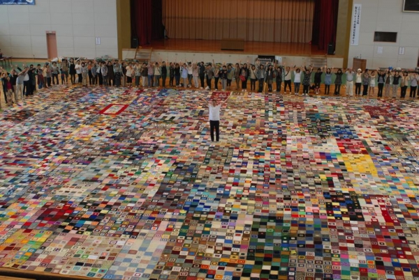 world's largest crochet blanket