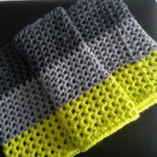 62soso crochet color block