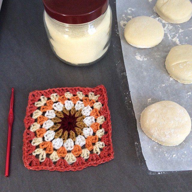 aglaelaser crochet granny square retro