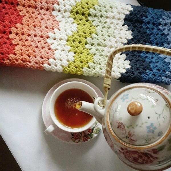 annesurr crochet chevron