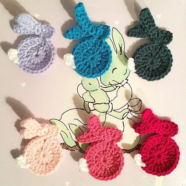 auline.c.morgan crochet bunny bunting