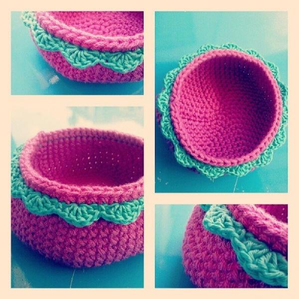 carmenspecchio crochet basket