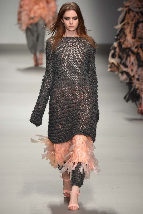 Crochet Fashion : ... Saint Martins fashion school included crochet in their fashion