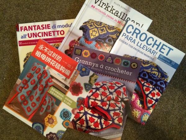 crochet books foreign