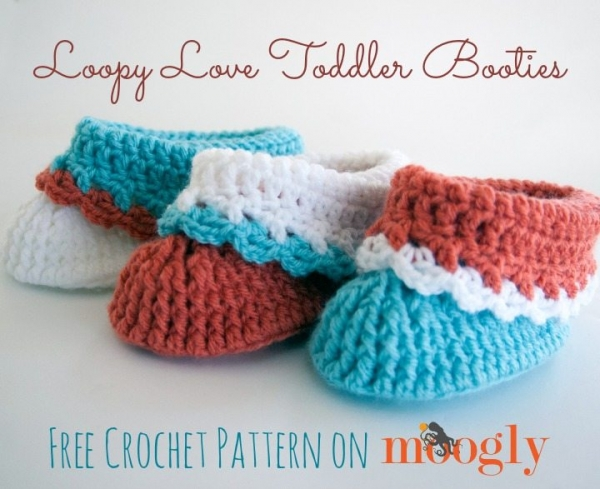 crochet booties pattern
