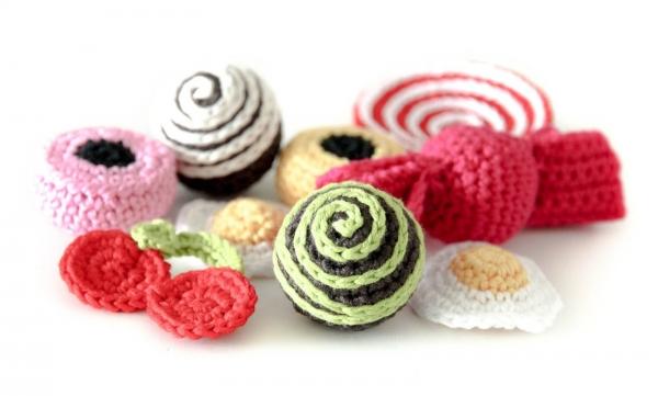 crochet candy
