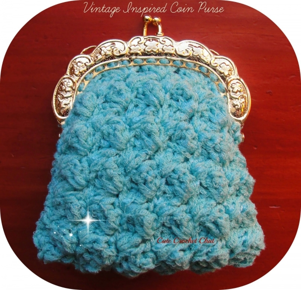 crochet coin purse free pattern