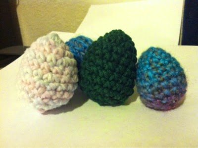 crochet eggs pattern