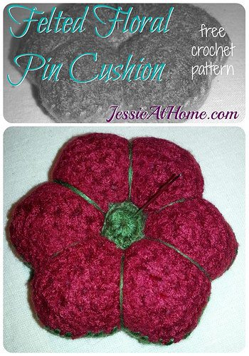 crochet pincushion free pattern