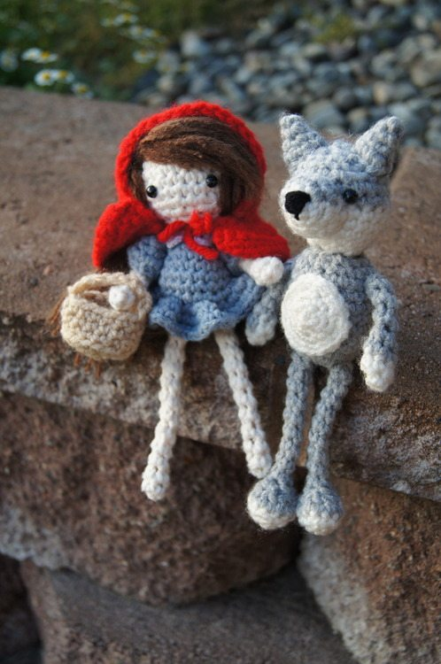 crochet red riding hood free pattern