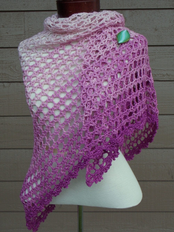 Crochet Shawl Pattern : Crochet shawl pattern for sale from @krwknitwear; she is launching a ...