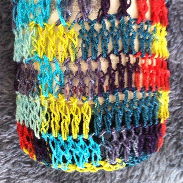 crochet wine cozy