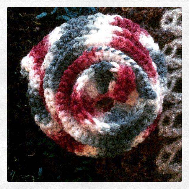 crochet wisteria vine