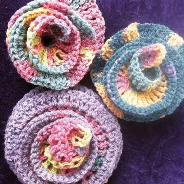 crochet wisteria