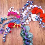 crochet wisteria vines