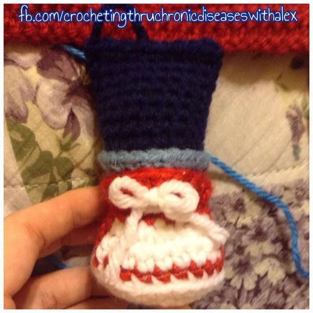 crochetingthruchronicdiseases crochet shoe