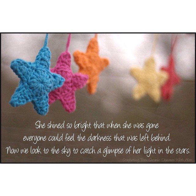 crochetingthruchronicdiseases crochet stars