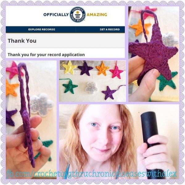 crochetingthruchronicdiseases crochet stars