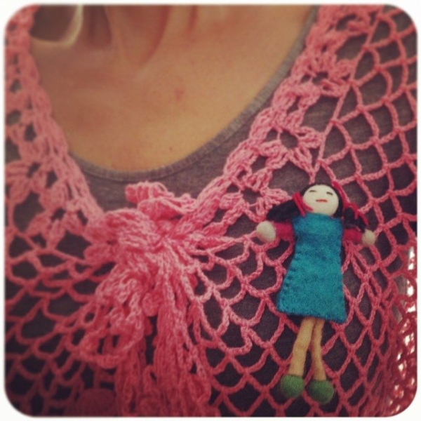 crochetinpaternoster crochet shirt doll