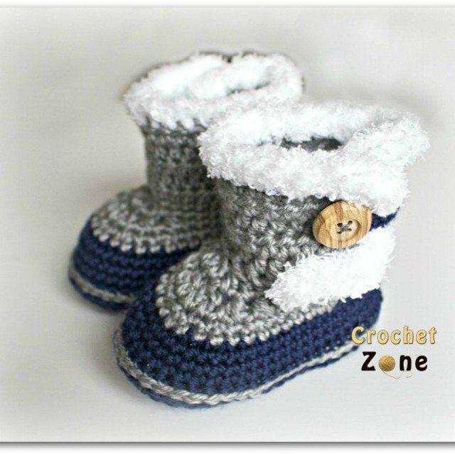 crochetzoneblog crochet boots