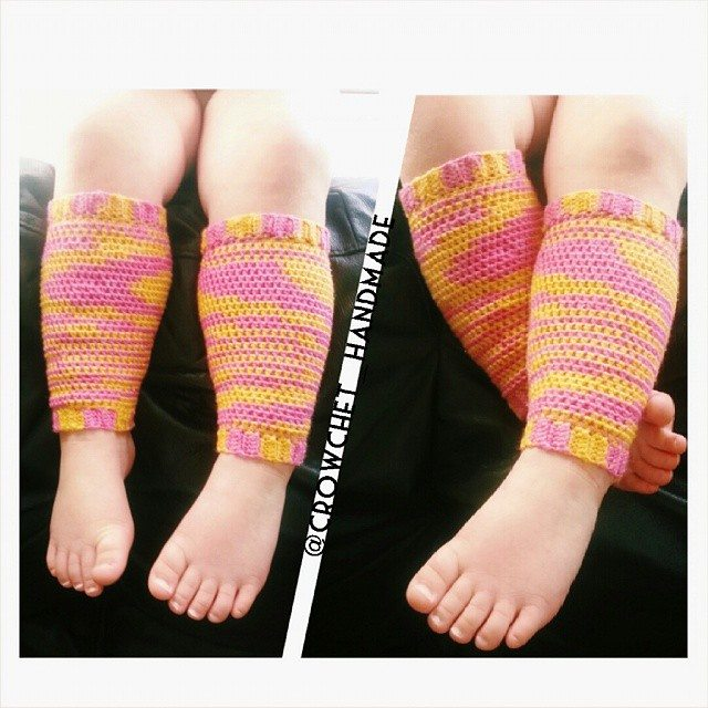 crowchet_handmade crochet legwarmers