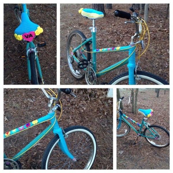 cuddlebugkids crochet bike
