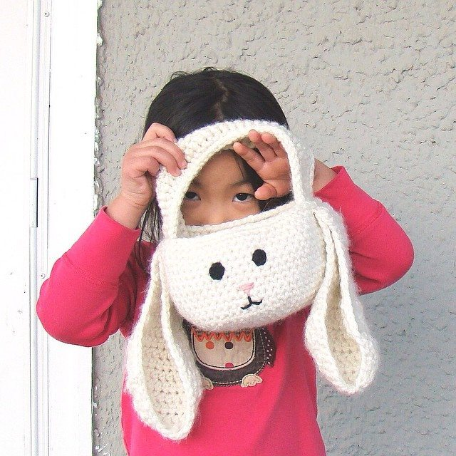 cuddlebugkids crochet easter basket