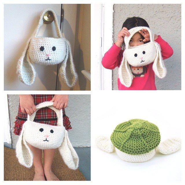 cuddlebugkids crochet easter bunny