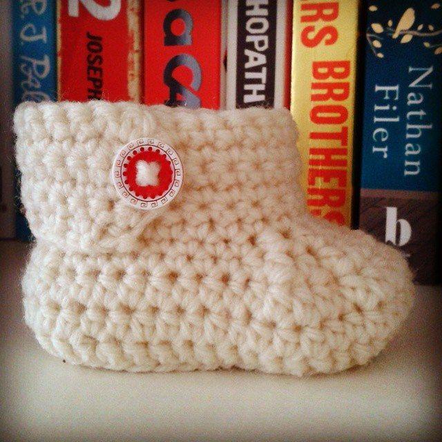 dojocrochet crochet bootie