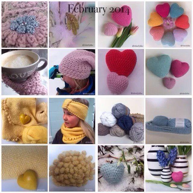 ektelykke crochet collage