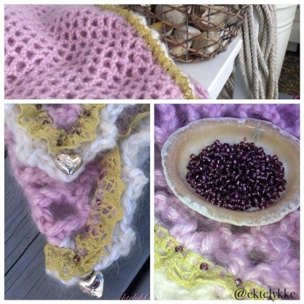 ektelykke crochet shawl