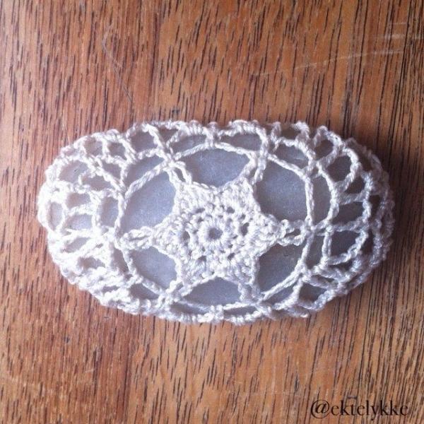 ektelykke crochet stones
