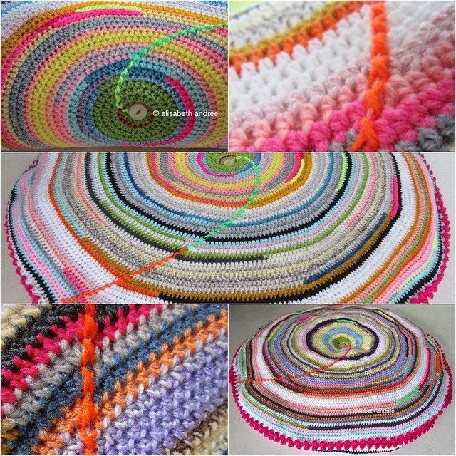elisabethandree crochet cushion