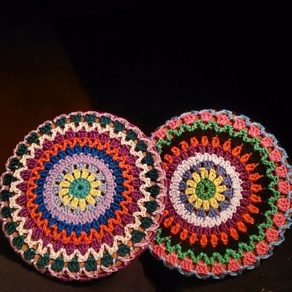 garnkorgen.blogg.se crochet colorful mandala