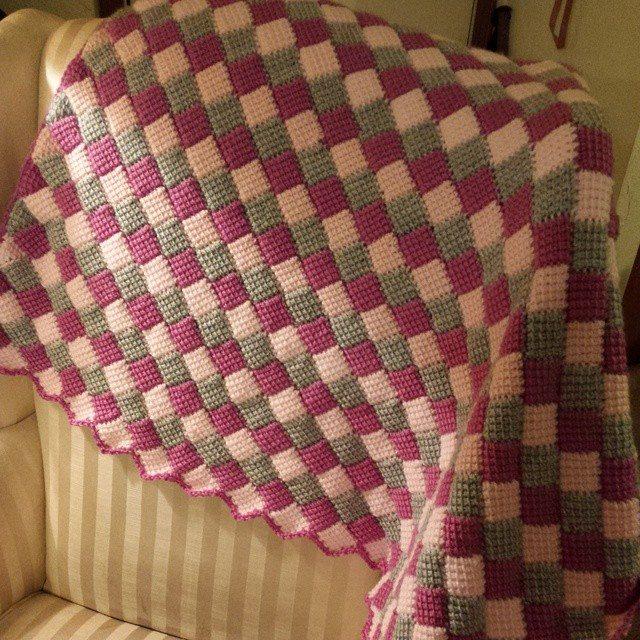 gigididthis crochet tunisian blanket