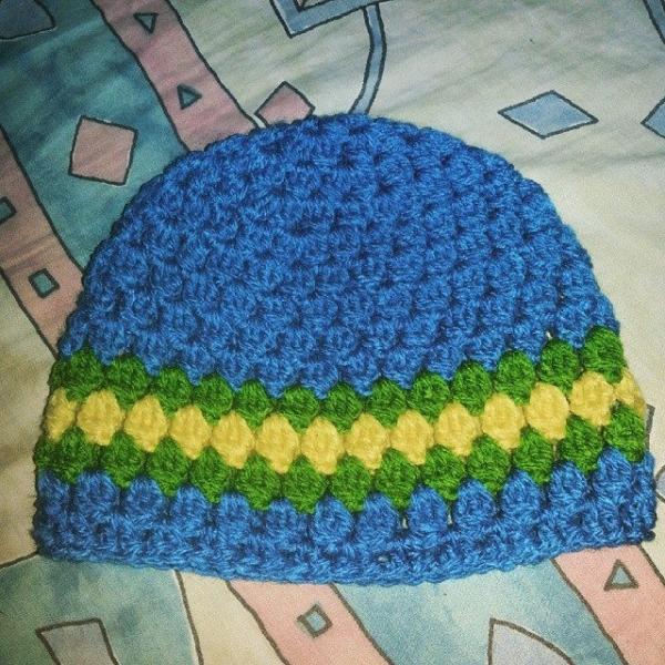 glitter1207 crochet hat