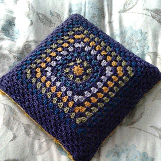 hanrosieg crochet cushion