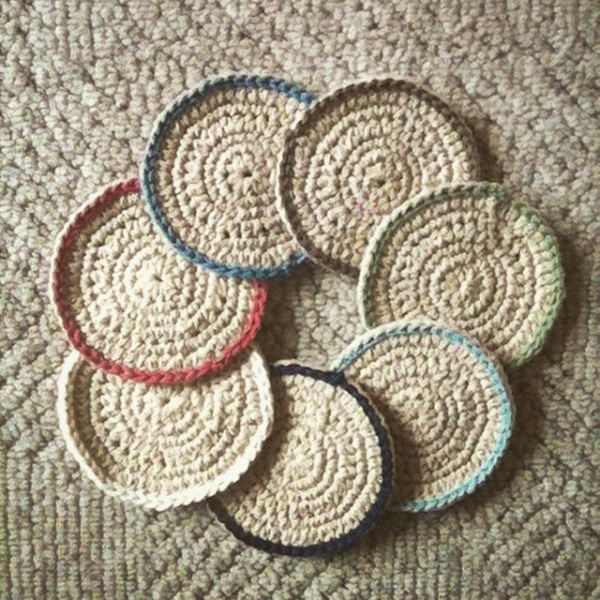 hayleyarious crochet coasters