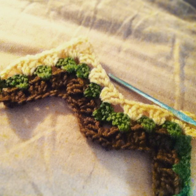 hayleyarious crochet granny ripple