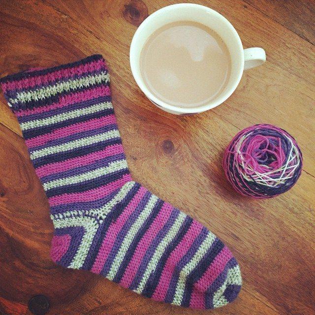 holly_pips crochet sock
