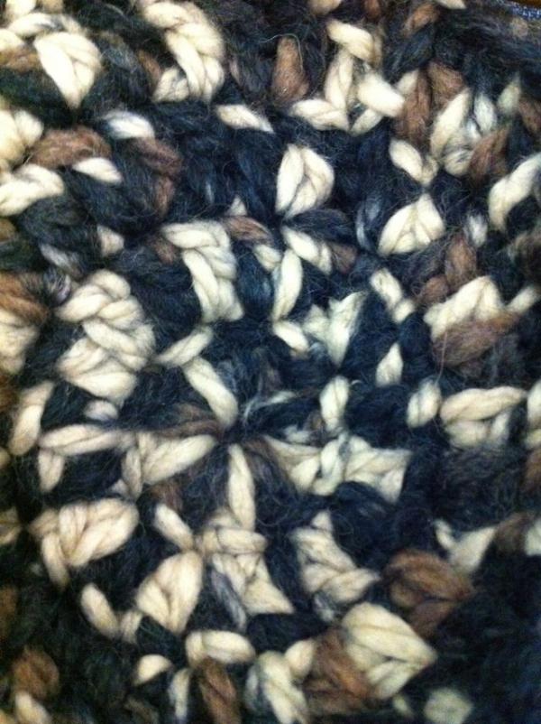 vercillo crochet circle rug