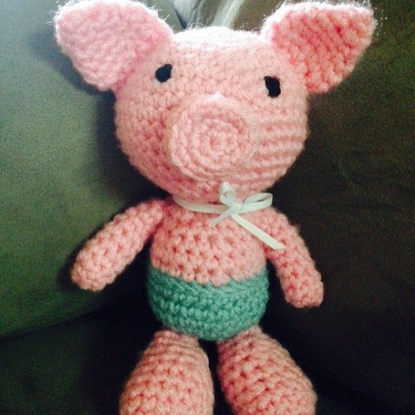 Cute Crochet Critters: Pigs are on Trend