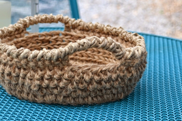 jute bowl crochet pattern