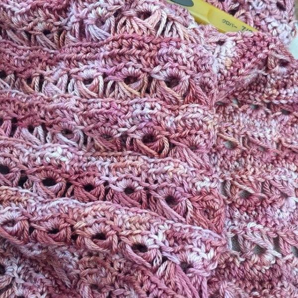 kmdcrochet broomstick lace crochet
