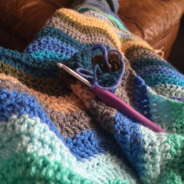 lisarye crochet chevron