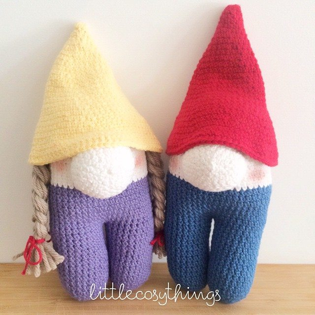 littlecosythings crochet gnomes