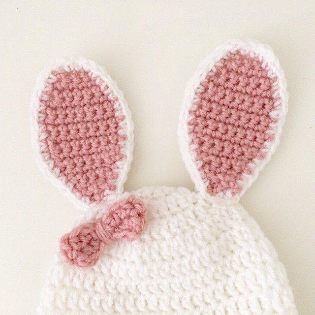 littlefoxcrochet crochet bunny ears