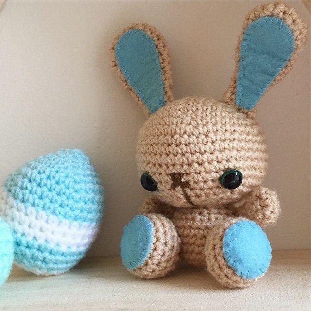 littlefoxcrochet crochet bunny