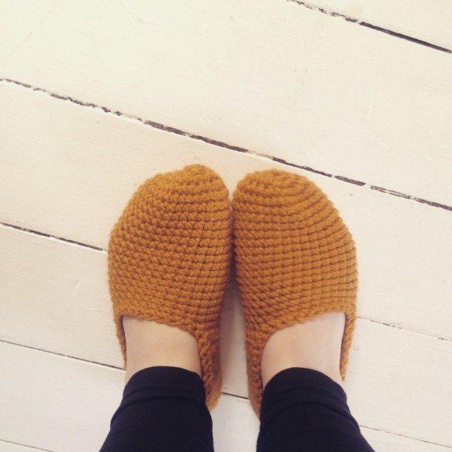 lou.teacrochet crochet slippers