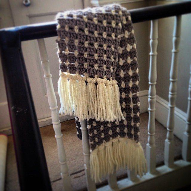louloudeane crochet scarf